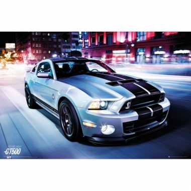 Decoratie poster ford shelby 61 x 91,5 cm