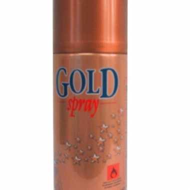 Decoratie verfspray goud 150 ml