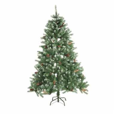 Dennenappel kunst kerstboom 150 cm