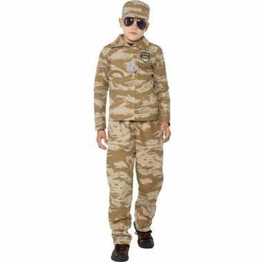 Desert camouflage outfit voor kinderen