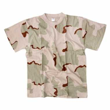 Desert camouflage t-shirt korte mouw