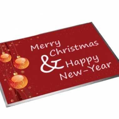 Deurmat happy new year