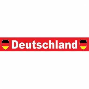 Deutschland sjaal rood 150 cm
