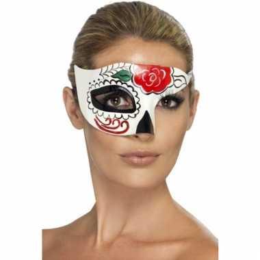 Dia de los muertos oogmasker