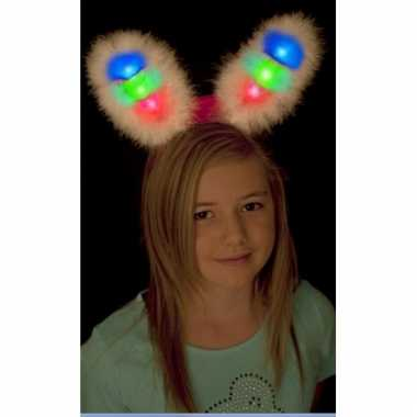 Diadeem met bunny oren lichtgevend