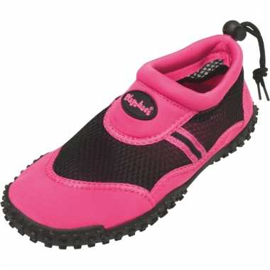 Dichte waterschoenen roze voor vrouwen