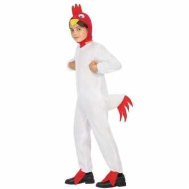 Dieren onesie haan/kip doodle voor jongens