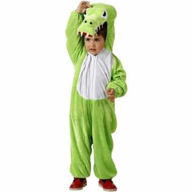 Dieren onesie krokodil croco voor kinderen