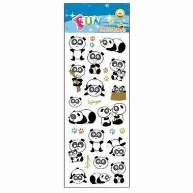 Dieren stickertjes panda