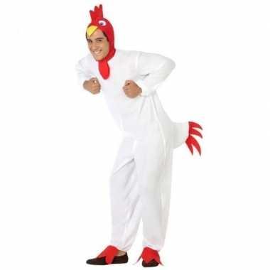 Dierenpak verkleed kostuum kip/haan voor volwassenen