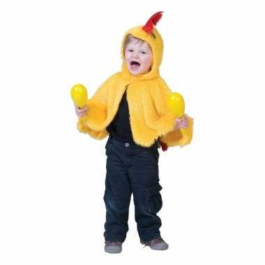 Dierenpakje geel kipje/haantje voor kinderen