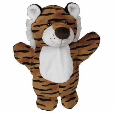 Dierentuindier knuffel tijger 27cm