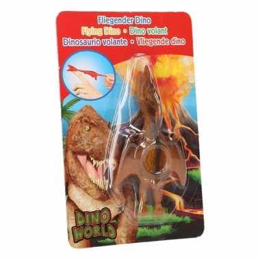 Dinosaurus speel katapult bruine pterosauri?rs