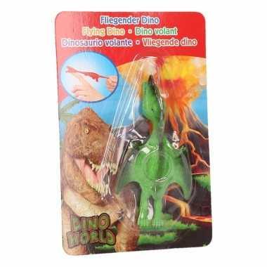 Dinosaurus speel katapult groene pterosauri?rs