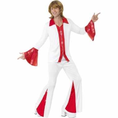 Disco kostuum voor heren super trooper