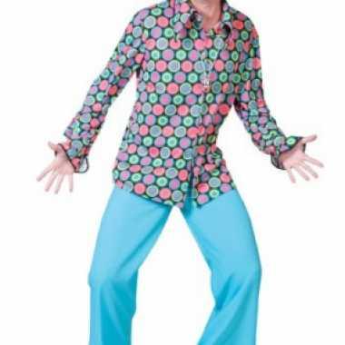Disco shirt voor heren