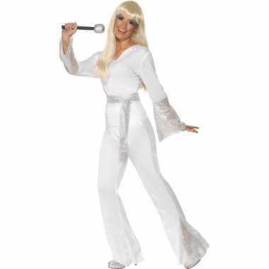 Disco verkleedkleding dames wit