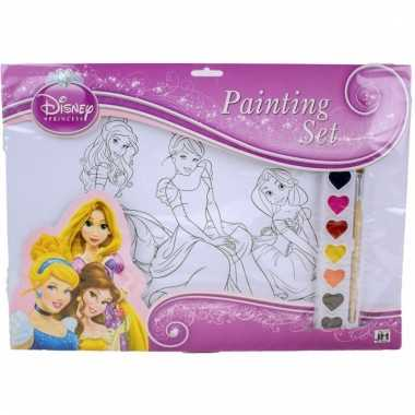 Disney a3 schilderset prinsessen type 2