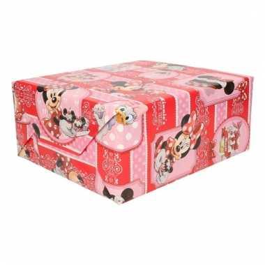Disney cadeaupapier minnie mouse thea time