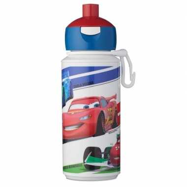 Disney cars anti-lek pop-up drinkfles/schoolbeker 275 ml