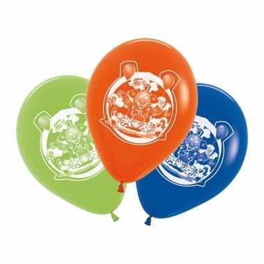 Feest ballonnen clowns 5 stuks