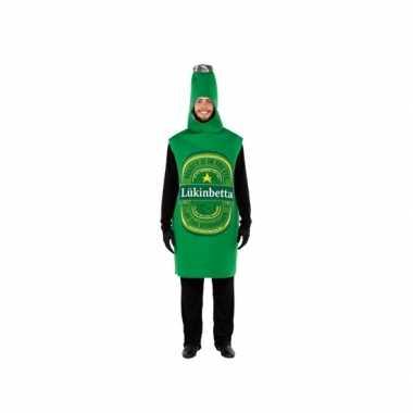 Feest bierflesje kostuum voor volwassenen