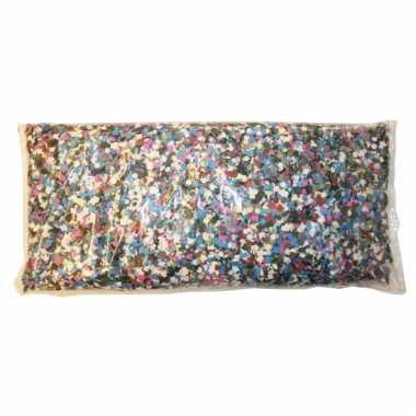 Feest confetti multikleur 1 kilo