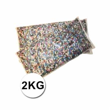 Feest confetti multikleur 2 kilo