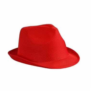 Feest hoedje rood