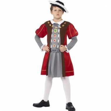 Feest middeleeuwen tuniek voor jongens