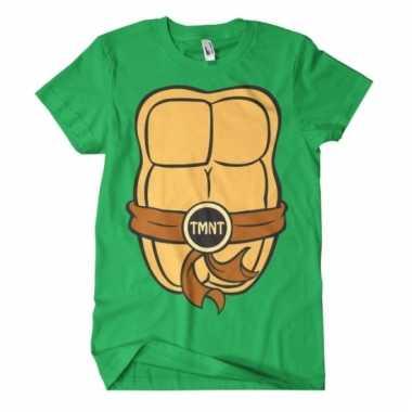 Feest ninja turtles t-shirt voor volwassenen