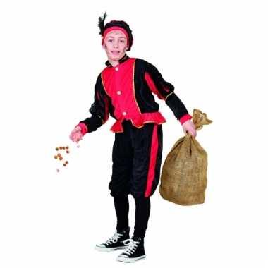 Feest rode pieten knecht outfit voor kinderen