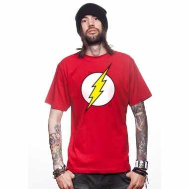 Feest t-shirt avengers the flash voor heren