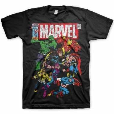 Feest t-shirt marvel comics voor heren