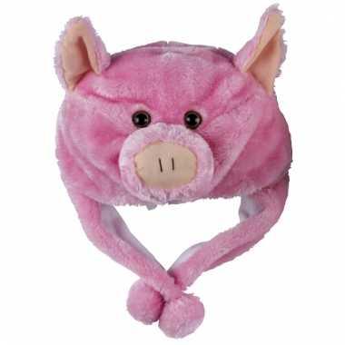 Feest varkens muts voor kinderen