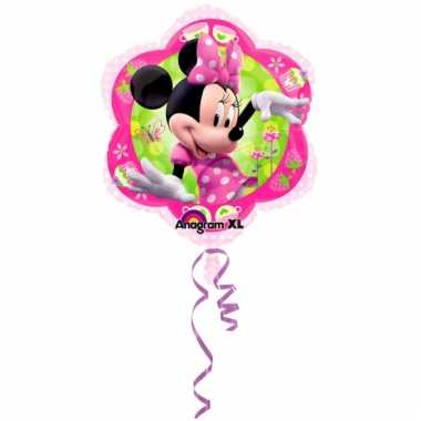 Feestartikelen folie ballon minnie mouse 45 cm