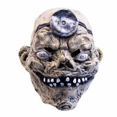 Feestartikelen latex masker doorgedraaide arts