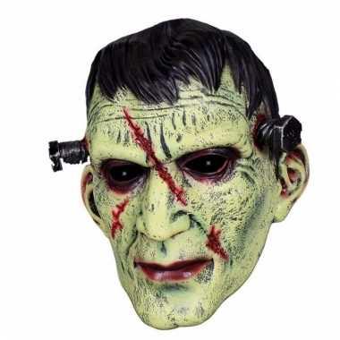Feestartikelen latex masker frankenstein