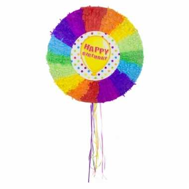 Feestartikelen pinata ballon kleuren
