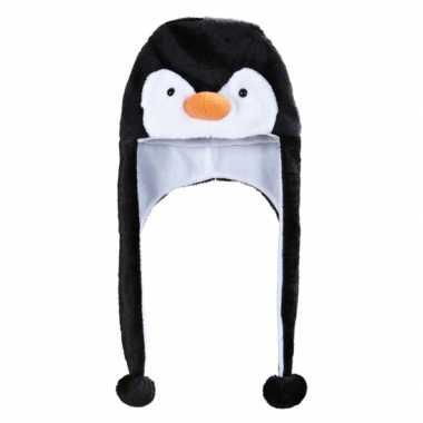 Feestartikelen pinguins muts voor volwassenen