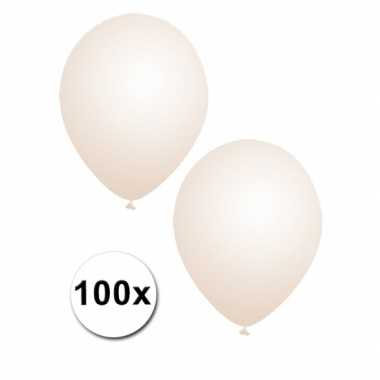 Feestballonnen transparant 100x