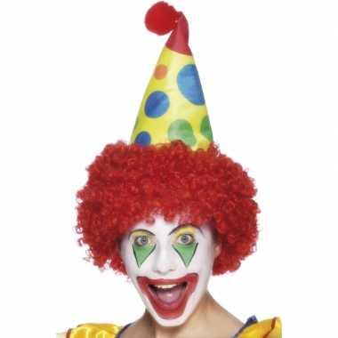 Feestmuts voor een clown