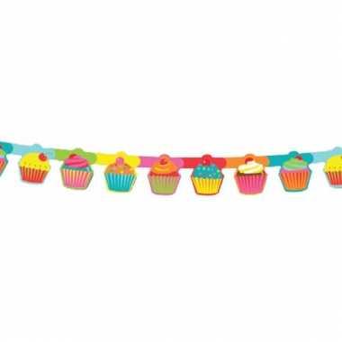 Feestslinger met cupcake print
