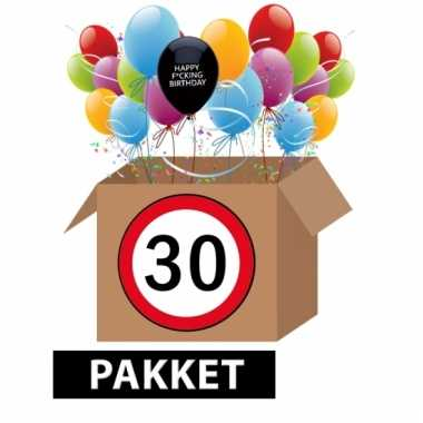 Feestversiering 30 jaar happy fucking birthday