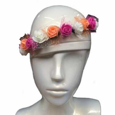 Festival haarband met bloemen