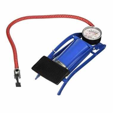 Fietsbandenpomp met drukmeter