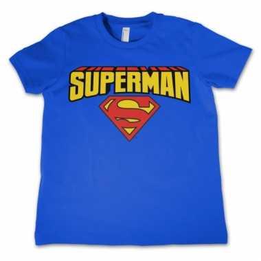 Film shirt superman voor kids