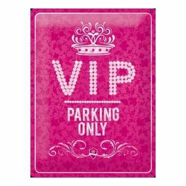 Filmster thema vip parking 30 x 40 cm