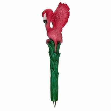 Flamingo balpen 17 cm type 2