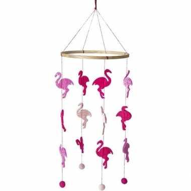Flamingo mobiel 45 cm hangdecoraties